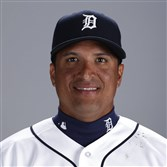 Victor Martinez of the Detroit Tigers.