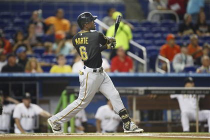 Pirates go 13 innings to snare a win against Marlins