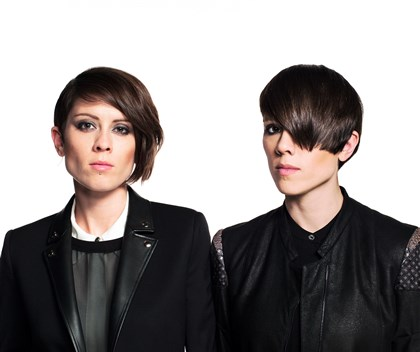 20140613hdPopMag Tegan and Sara: Tegan and Sara Quin.
