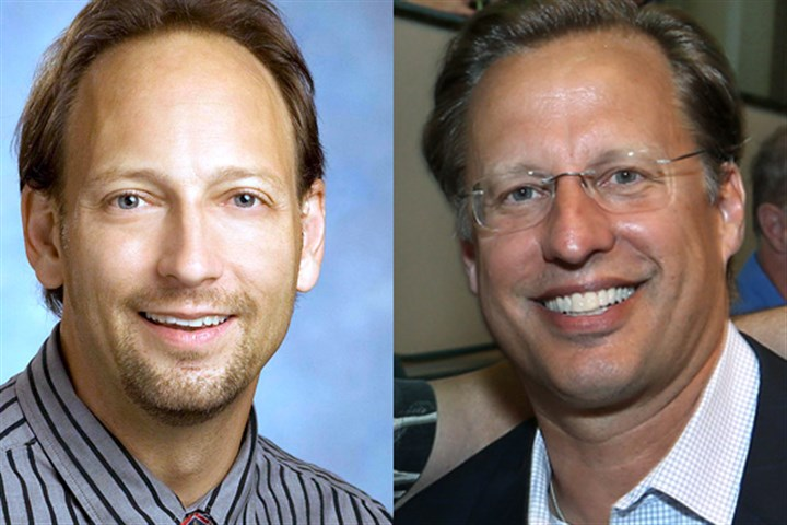 dave brat jack trammell Jack Trammell (left) and Dave Brat: it's not all academic
