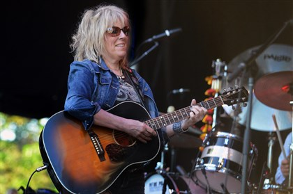 Lucinda Williams  Lucinda Williams performs at the Three Rivers Arts Festival at Point State Park Saturday.