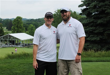 Variety2 Mike Schneck and Brett Keisel.