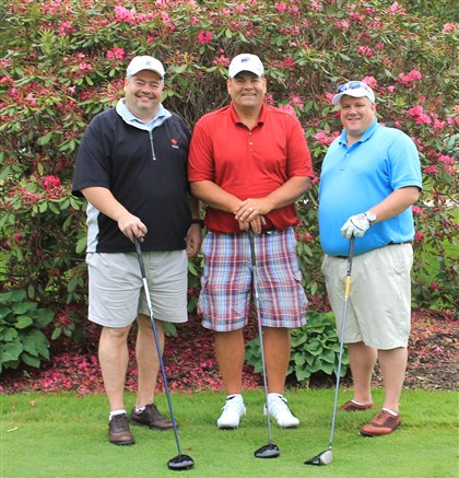 SeenGolf Keith Alves, Ron Coder and Doug Patton.
