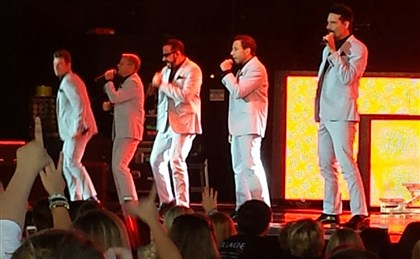 Backstreet Boys at First Niagara Pavilion Backstreet Boys in concert on Saturday at First Niagara Pavilion.