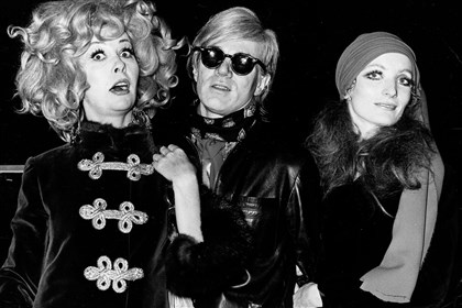 ultraViolet Ultra Violet, left, and Andy Warhol in 1968.