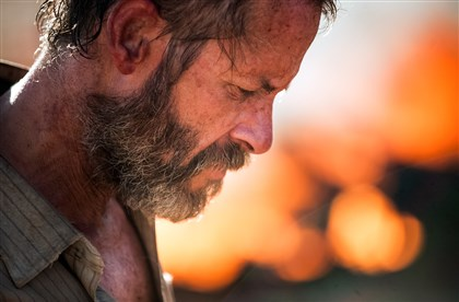"20140620TheRover5-2 Guy Pearce loved the lack of costume changes in his role in ""The Rover."""