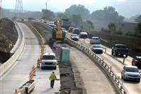 After four years, PennDOT expects to restore two lanes of outbound traffic on Route 28 by Thanksgiving.