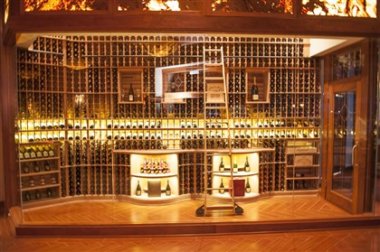 EddieMerlotWineCellar-2 Eddie Merlot's , Gateway Center, Wine Cellar.