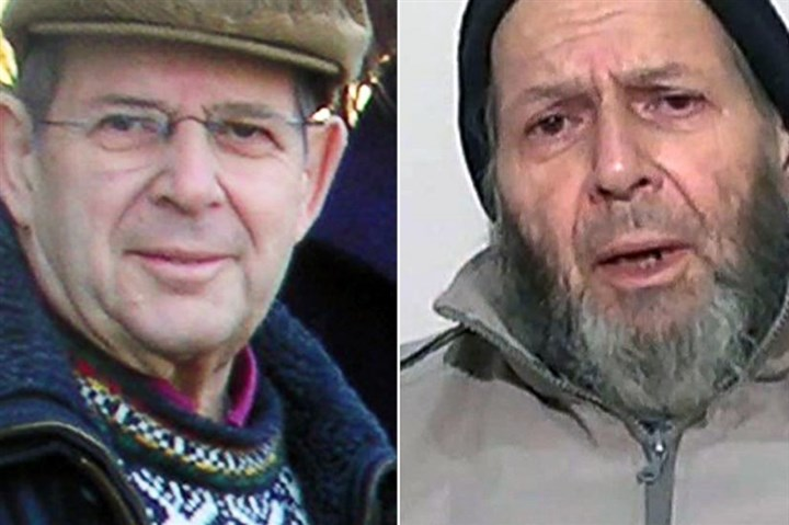 Warren Weinstein in a family photo from January 2009 Warren Weinstein in a family photo from January 2009 and in a photo released by his captors last December.