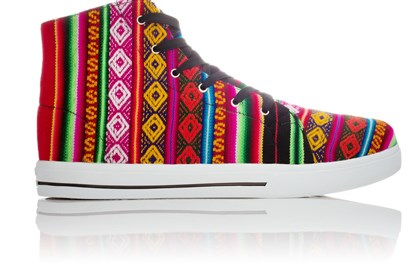 Colorful Inkkas shoes handmade in Peru Colorful Inkkas shoes handmade in Peru.