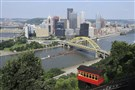 Downtown Pittsburgh from the Duquesne Incline station.