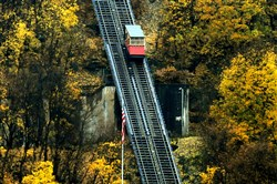 The $3.5 million renovation project will replace the rails and safety cables and renovate the cars and stations on what the authority says is the oldest continuously operating funicular railway in the U.S. It opened in 1870 and has undergone four previous renovations.