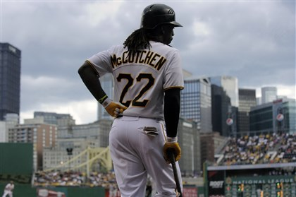 9dw00kjl-20 Andrew McCutchen has fast become a fixture in the city skyline.