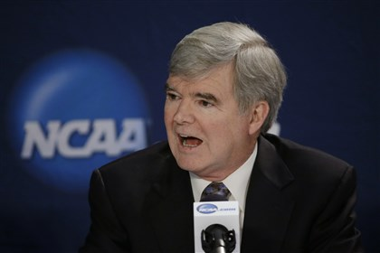 MarkEmmert0628 Testimony has concluded in Ed O'Bannon's landmark lawsuit against the NCAA. Commissioner Mark Emmert was one of many NCAA executives who testified in the case.