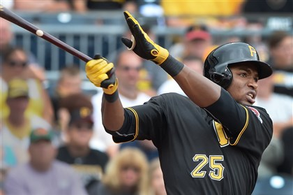 polanco0627a Pirates rookie Gregory Polanco is proving why he was such a highly-rated prospect.