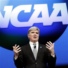 NCAA. Commissioner Mark Emmert  A judge ruled Friday in favor of Ed O'Bannon's landmark lawsuit against the NCAA. Commissioner Mark Emmert (above) was one of many NCAA executives who testified in the case.