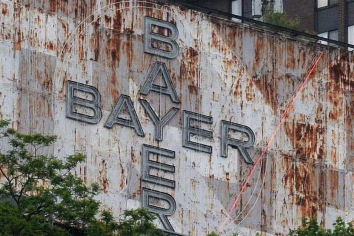 Bayer sign Bayer Corp. will no longer display its name in lights atop Mount Washington.