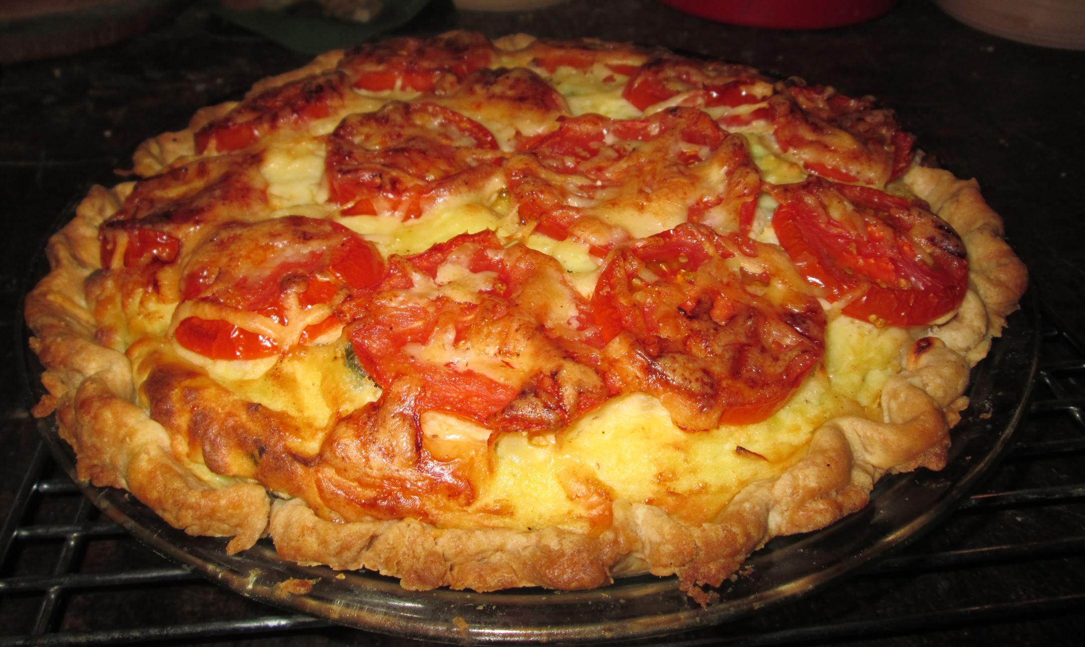 20140619hoPotatoPiefood-1 Mashed Potato Pie.