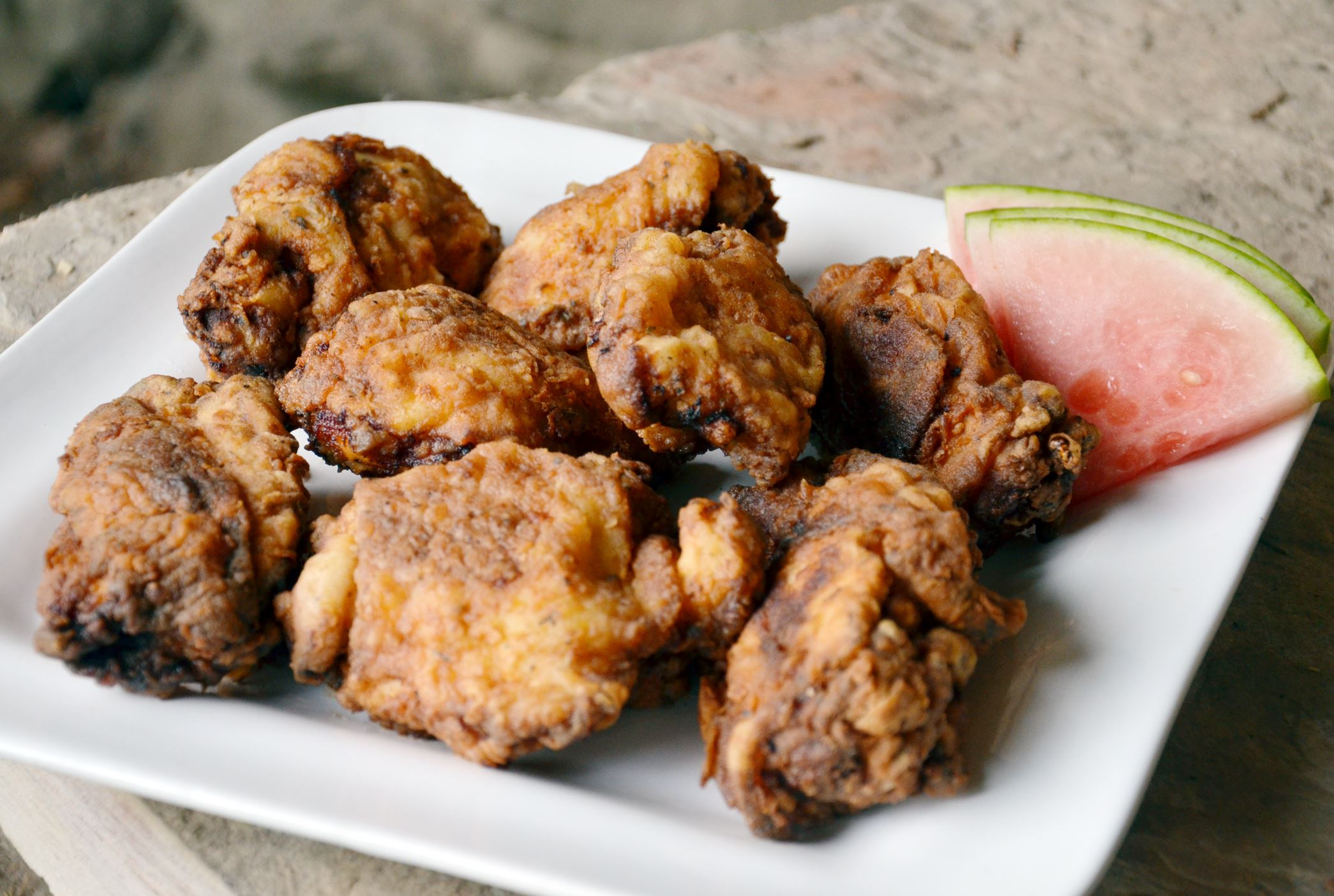 Buttermilk Country Fried Chicken With Cucumber Salad Recipes ...