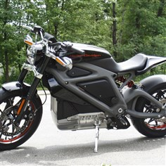 Harley-Electric Motorcycles Harley-Davidson plans to unveil the LiveWire model electric motorcycle Monday at an invitation-only event in New York.