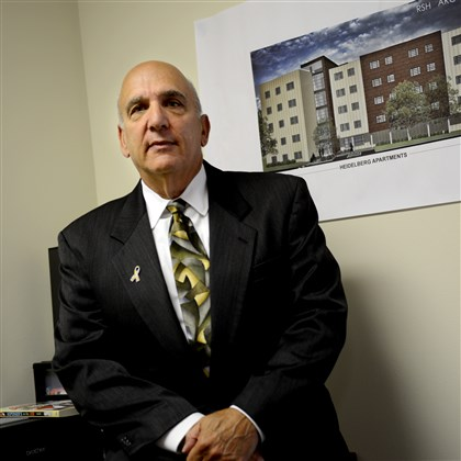 20140620ppAutismHousingMONLOCAL Elliot Frank is president of the Autism Housing Development Corp. of Pittsburgh in Wexford, an organization that has received federal tax credits toward an affordable housing development it's planning for autistic residents.