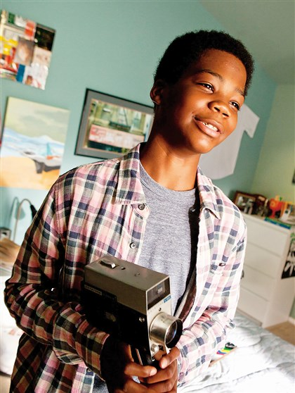 "EarthtoEcho4-1 Brian 'Astro' Bradley stars in ""Earth to Echo."""