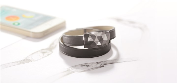 Netatmo June bracelet Smart jewelry: JUNE bracelet with gunmetal jewel by Netatmo ($99; netatmo.com).