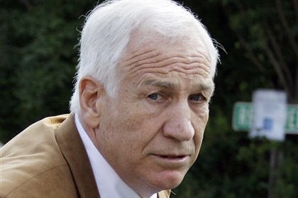 Jerry Sandusky report Jerry Sandusky was convicted in 2012 of sexually abusing 10 boys and is serving a 30- to 60-year prison sentence.