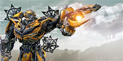 "20140627Transformers1 Bumblebee in ""Transformers: Age of Extinction."""