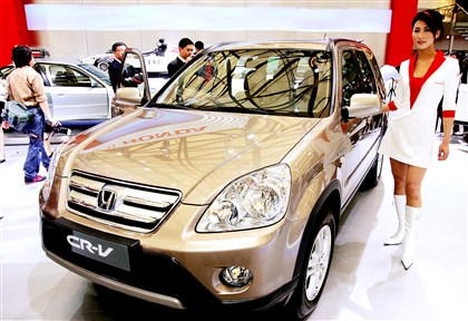 Japan Airbag Recall Honda, Mazda and Nissan are recalling millions of vehicles globally, such as this 2005 Honda CR-V, for defective air bags that could possibly explode.