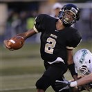 Quaker Valley quarterback Dane Jackson attends Cornell High School but competes for the Quakers under a PIAA-approved cooperative agreement.