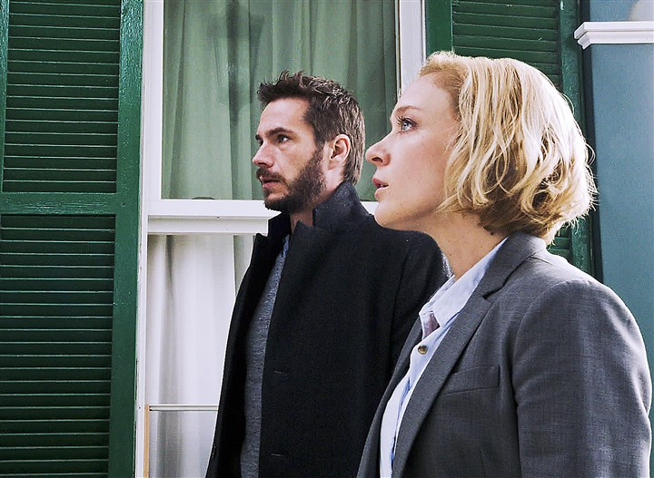 "TVQ1 James D'Arcy and Chloe Sevigny star in A&E's ""Those Who Kill,"" which doesn't seem to know that Pennsylvania is a commonwealth."