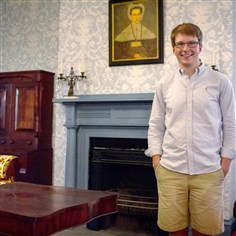 Andrew Hyatt Andrew Hyatt, 18, has been helping his neighbors restore a Greek Revival Mansion in Shaler.