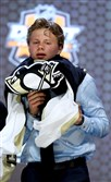 Kasperi Kapanen was selected 22nd overall by the Penguins in the first round of the 2014 NHL Draft earlier this year in Philadelphia