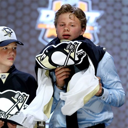 kapanen0709 Kasperi Kapanen, the No. 22 overall pick in the NHL draft last month, is slated to be at the Penguins' prospect camp.