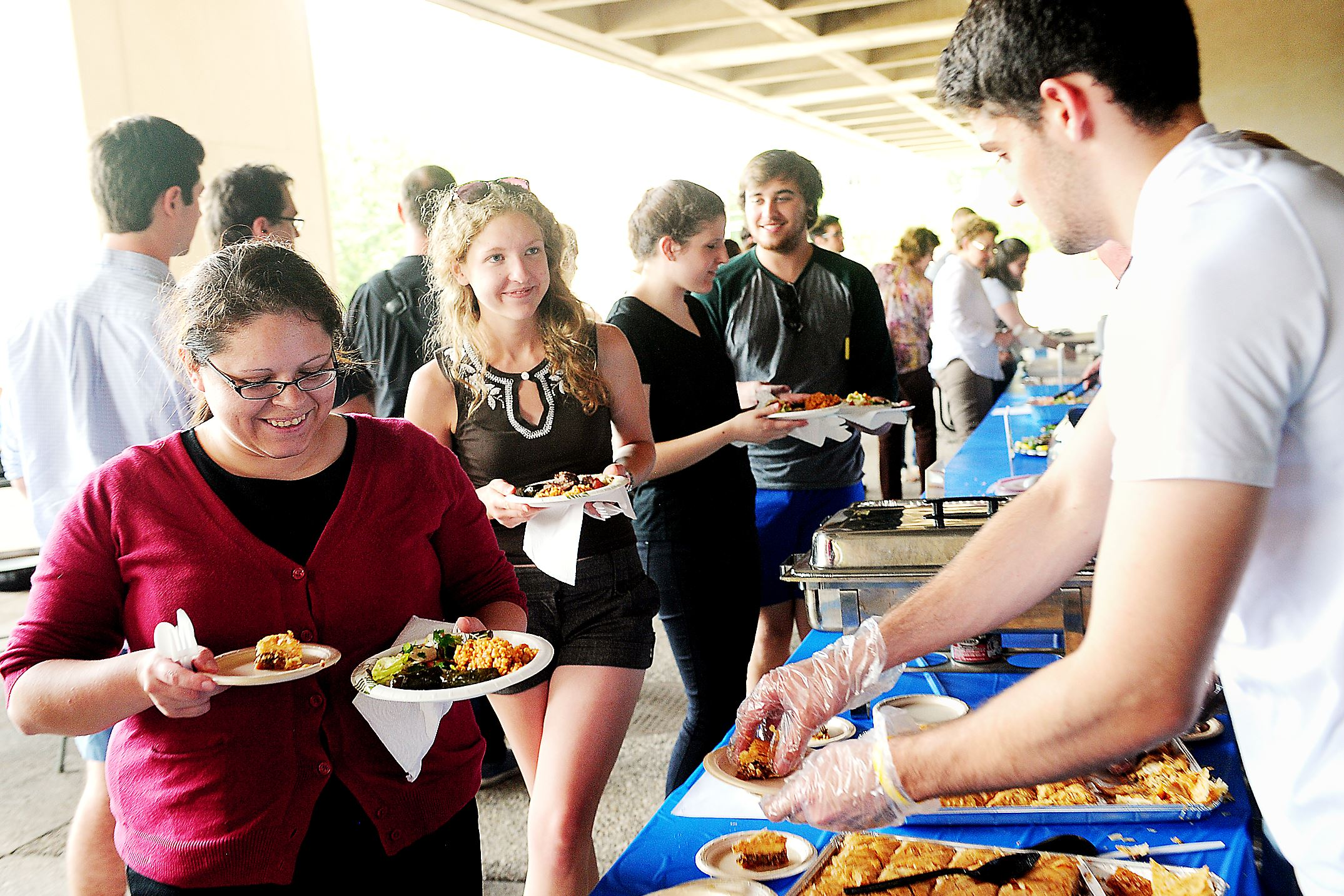 Pitt students study the language of food at picnic ...