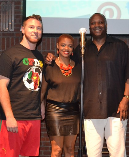 executives From left, Justin Forzano, Iyana Tennon and Jesse McLean Jr.