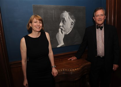 FrickDegas Sarah Hall and Robert Flynn Johnson.
