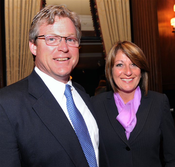 ProjectSERVE Ted Kennedy, Jr., and Deb Rice-Johnson.