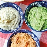 Three-Color Hummus.