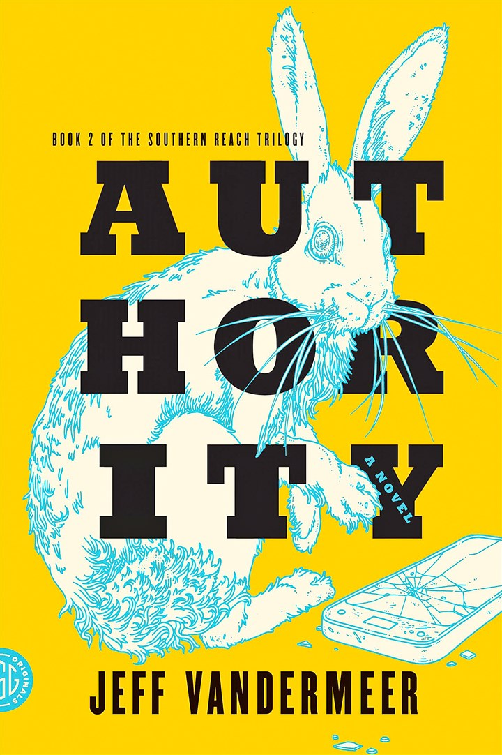 "Vandermeer1 ""Authority"" by Jeff Vandermeer."