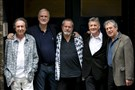 John Cleese, second from left, wth Eric Idle, Terry Gilliam, Michael Palin and Terry Jones of the comedy group Monty Python.