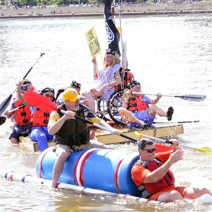 Anything that floats at Three Rivers Regatta First-place winners in the anything that floats event will receive $2,500.