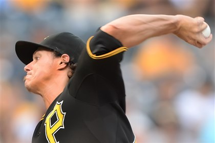 20140701pdPiratesSports01 Jeff Locke will start Tuesday against the St. Louis Cardinals.