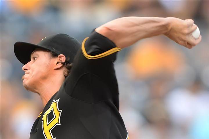 Pirates starter Jeff Locke Pirates starter Jeff Locke delivers against the Diamondbacks Tuesday night at PNC Park.