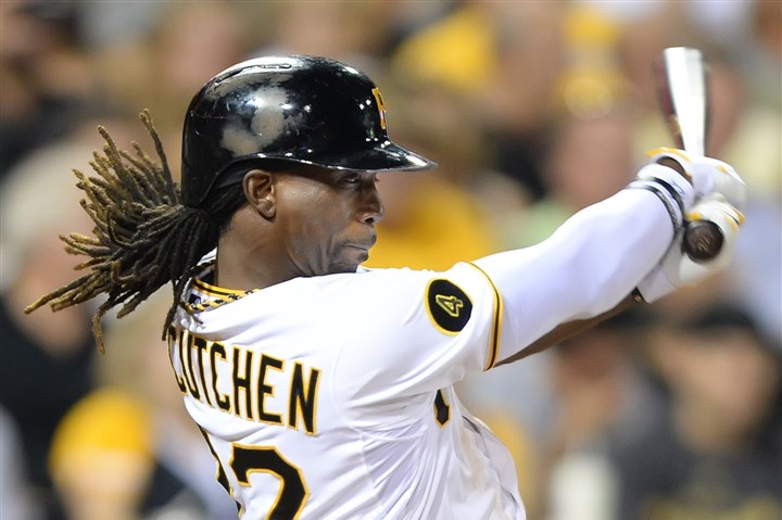 Andrew McCutchen Andrew McCutchen ranks in the top five in the NL in batting, hits, slugging percentage OPS and led all NL outfielders in All-Star voting.