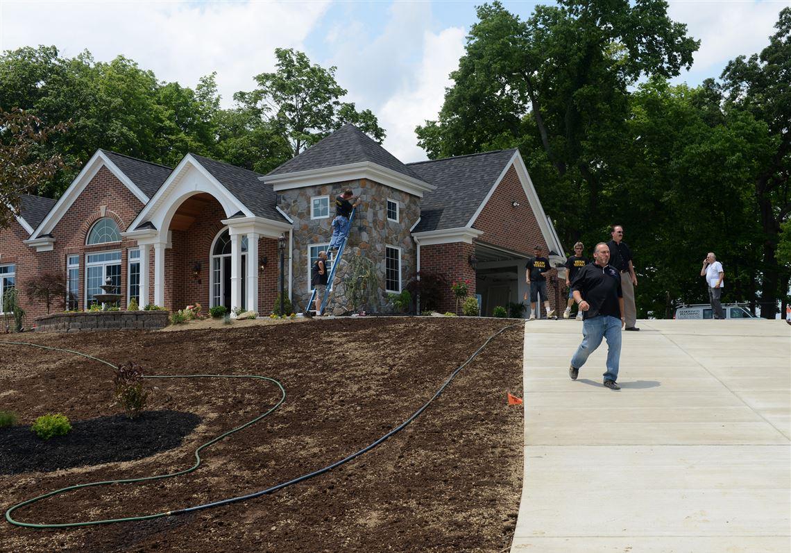 Disabled Marine veteran opens door to new 'smart' home   Pittsburgh