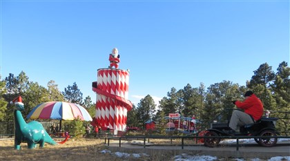 North Pole: Home of Santas Workshop North Pole: Home of Santas Workshop is one of a dwindling number of family owned amusement parks still operating.