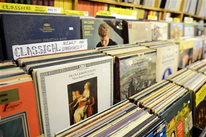 Jerry's Records in Squirrel Hill The shelves of the classical & opera room at Jerry's Records in Squirrel Hill.