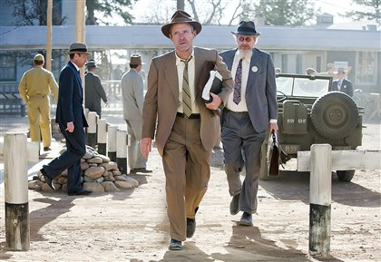 "owen0725 John Benjamin Hickey and Daniel Stern star in ""Manhattan"" on WGN America, photo courtesy WGNAmerica"